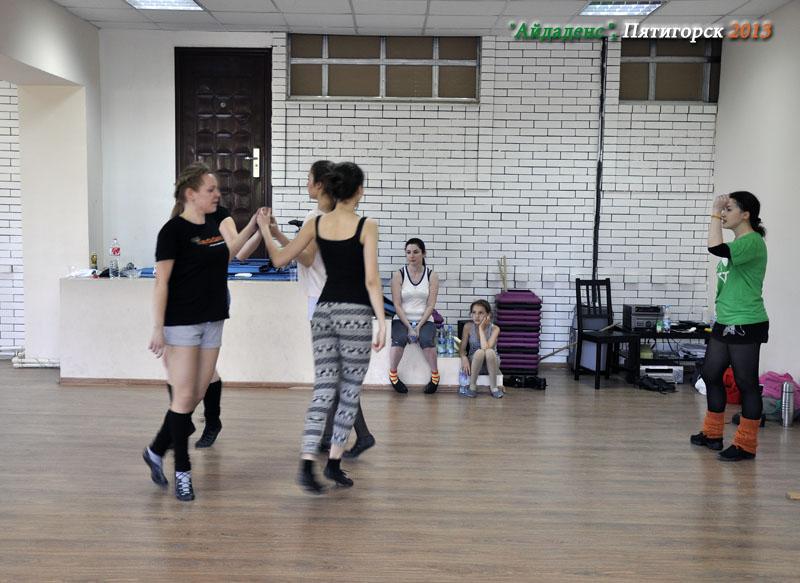 Ирландский танец мастер-класс