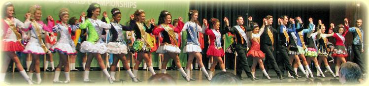 ирландских танцев.